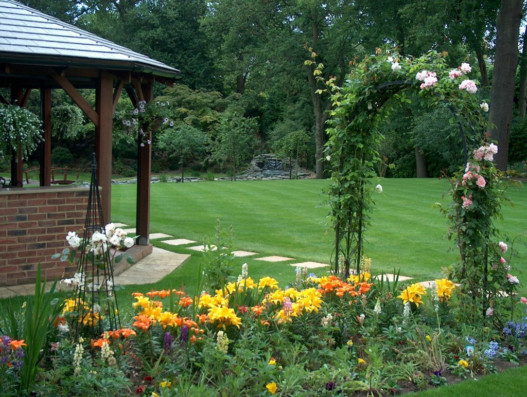 a beautiful garden ANYWHERE
