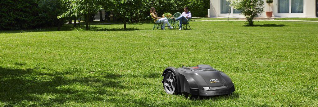 stiga robotic mower